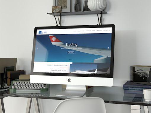 Développement du site Aero-Sky