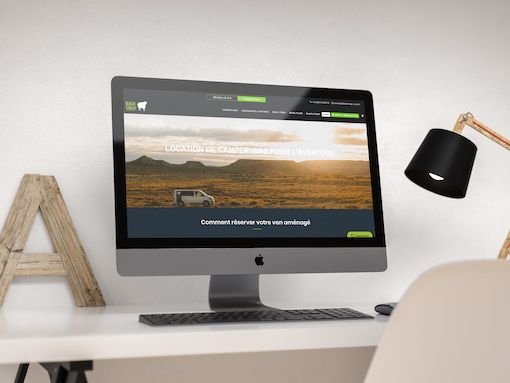 Développement du site Blacksheep Van